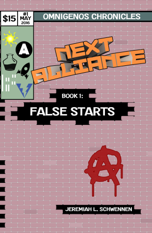 Next Alliance - False Starts Cover FRONT